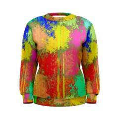 Colorful paint spots Sweatshirt