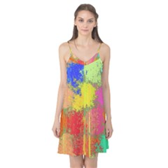 Colorful paint spots Camis Nightgown
