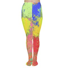 Colorful paint spots Tights