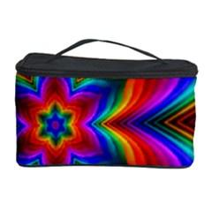 Rainbow Flower Cosmetic Storage Case