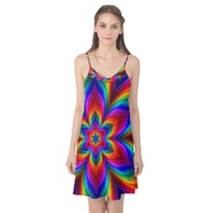 Rainbow Flower Camis Nightgown
