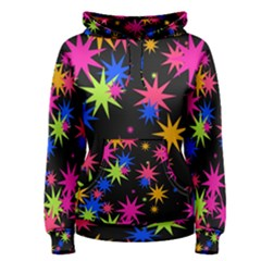 Colorful Stars Pattern Pullover Hoodie
