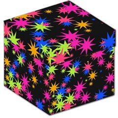 Colorful stars pattern Storage Stool