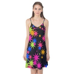 Colorful Stars Pattern Camis Nightgown
