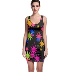 Colorful stars pattern Bodycon Dress