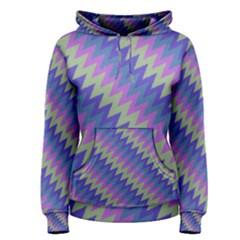 Diagonal chevron pattern Pullover Hoodie