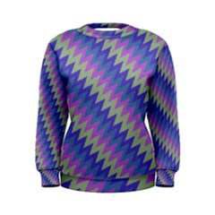 Diagonal chevron pattern Sweatshirt