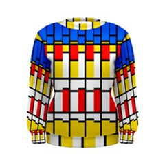 Colorful rectangles pattern Sweatshirt