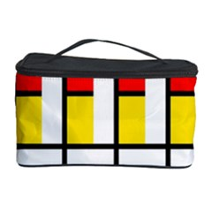 Colorful rectangles pattern Cosmetic Storage Case