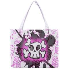 Cartoon Skull  Tiny Tote Bag