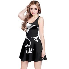 Gothic Skull Reversible Sleeveless Dress