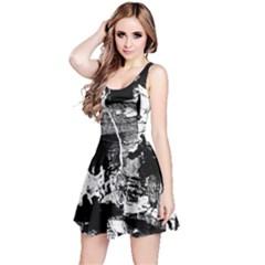 Grunge Skull Reversible Sleeveless Dress