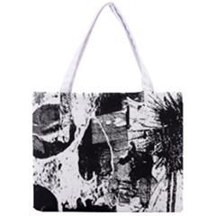 Grunge Skull Tiny Tote Bag