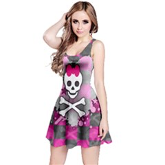 Princess Skull Heart Reversible Sleeveless Dress