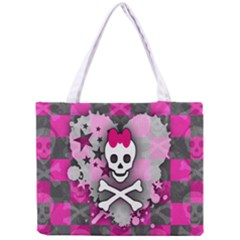 Princess Skull Heart Tiny Tote Bag