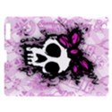 Sketched Skull Princess Apple iPad 3/4 Hardshell Case View1