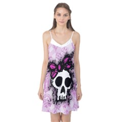 Sketched Skull Princess Camis Nightgown