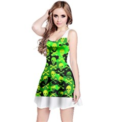 Skull Camouflage Reversible Sleeveless Dress