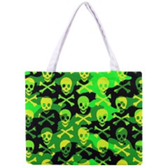 Skull Camouflage Tiny Tote Bag