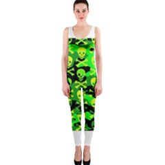 Skull Camouflage OnePiece Catsuit