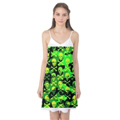 Skull Camouflage Camis Nightgown
