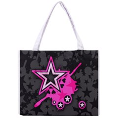 Pink Star Graphic Tiny Tote Bag