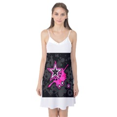 Pink Star Graphic Camis Nightgown