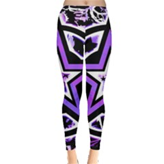 Purple Star Leggings