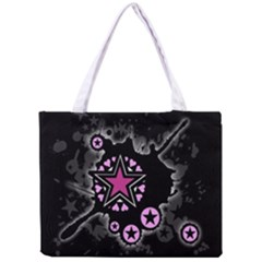 Pink Star Explosion Tiny Tote Bag