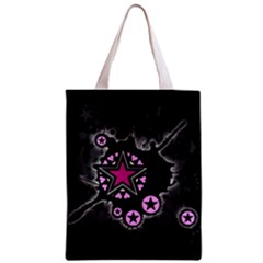 Pink Star Explosion Classic Tote Bag
