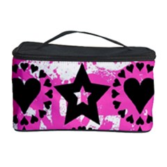 Star And Heart Pattern Cosmetic Storage Case