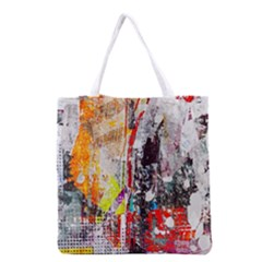 Abstract Graffiti Grocery Tote Bag