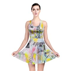 Graffiti Graphic Reversible Skater Dress