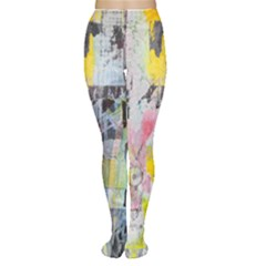 Graffiti Graphic Tights