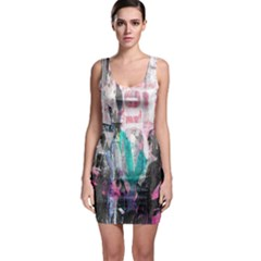 Graffiti Grunge Love Bodycon Dress