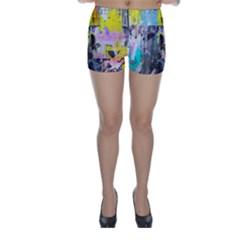 Graffiti Pop Skinny Shorts