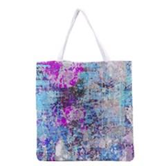 Graffiti Splatter Grocery Tote Bag