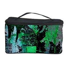 Green Urban Graffiti Cosmetic Storage Case