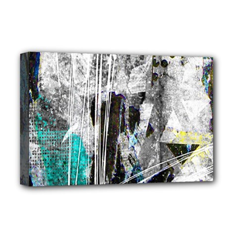 Urban Funk Deluxe Canvas 18  X 12  (framed)