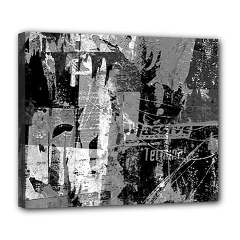 Urban Graffiti Deluxe Canvas 24  X 20  (framed)