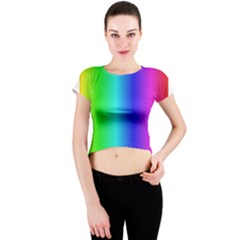 Crayon Box Crew Neck Crop Top