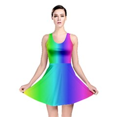 Crayon Box Reversible Skater Dress