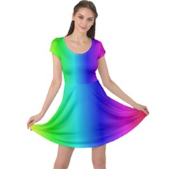 Crayon Box Cap Sleeve Dress