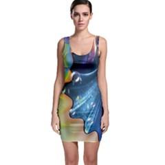 Cocktail Bubbles Bodycon Dress