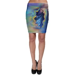 cocktail bubbles Bodycon Skirt