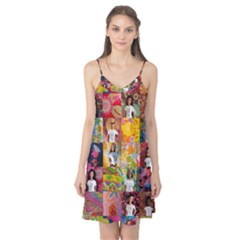 We Are Beautiful Patchwork 2 Camis Nightgown