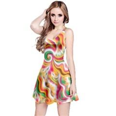 Sunshine Swirls Reversible Sleeveless Dress