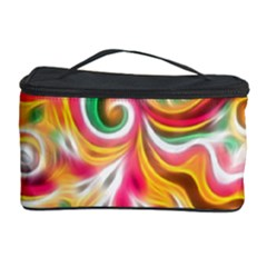Sunshine Swirls Cosmetic Storage Case