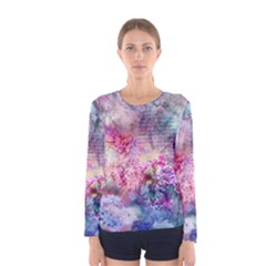 Composition In Pastel Women s Long Sleeve T Shirt