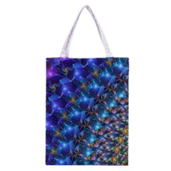 Blue Sunrise Fractal Classic Tote Bag